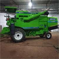 Track mounted combine Harvester