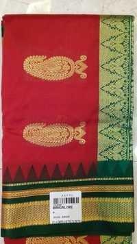 Bangalore Silk With Irikal Border