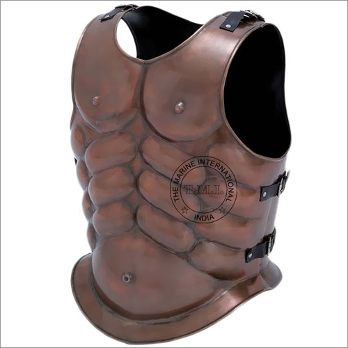 Copper Antique Roman Muscle Armour