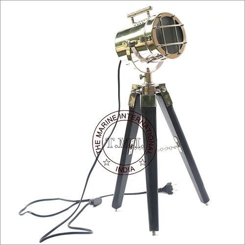 Nautical Searchlight with Stand