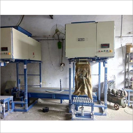 Seed Oil Cake Filling Machine