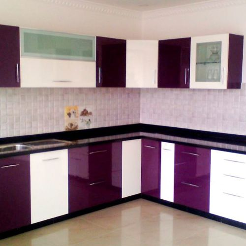 Pvc  High Glossy Kitchen