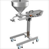 Semi Automatic Filling Clamp Machine