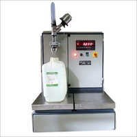 Semi Automatic Tin Oil Filling Machine