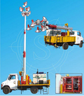 Truck Mounted Telescopic Tilting Type Tower
