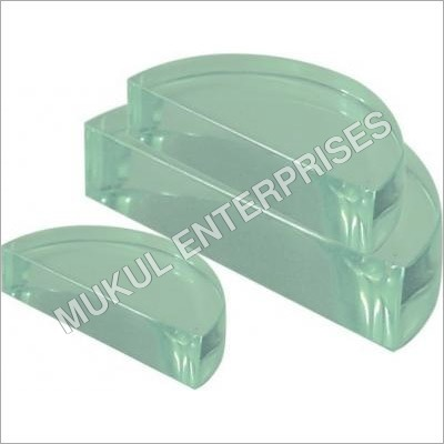 Semicircular Glass Block