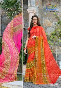 Trendy Georgette Saree