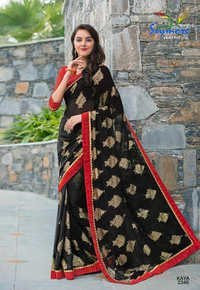 Royal Black Saree