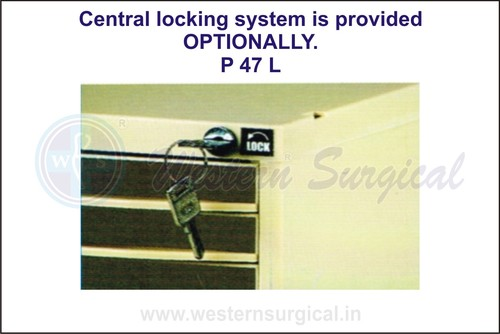 Central Locking System Is Provided Optionally
