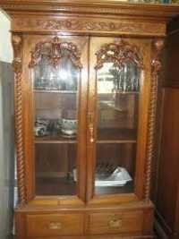 Wooden Carved Wardrobe