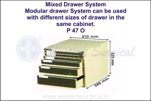 Mixed Drawer System