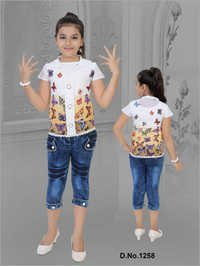 Children Capri With Top