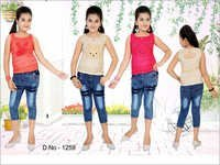 Girls Capri With Top