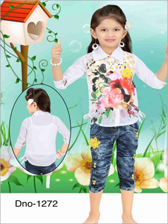 Kids Capri With Top