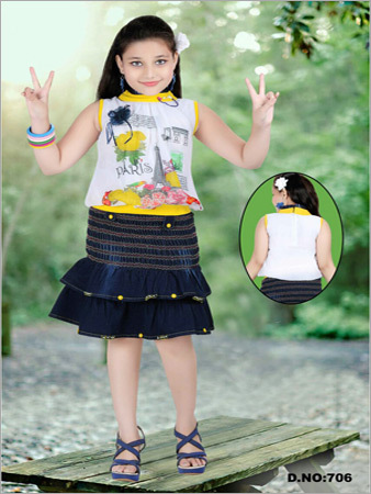 Kids Skirts with Top