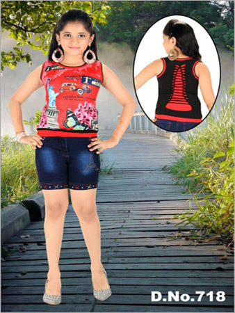 Kids Shorts With Top
