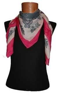棉花方形的围巾