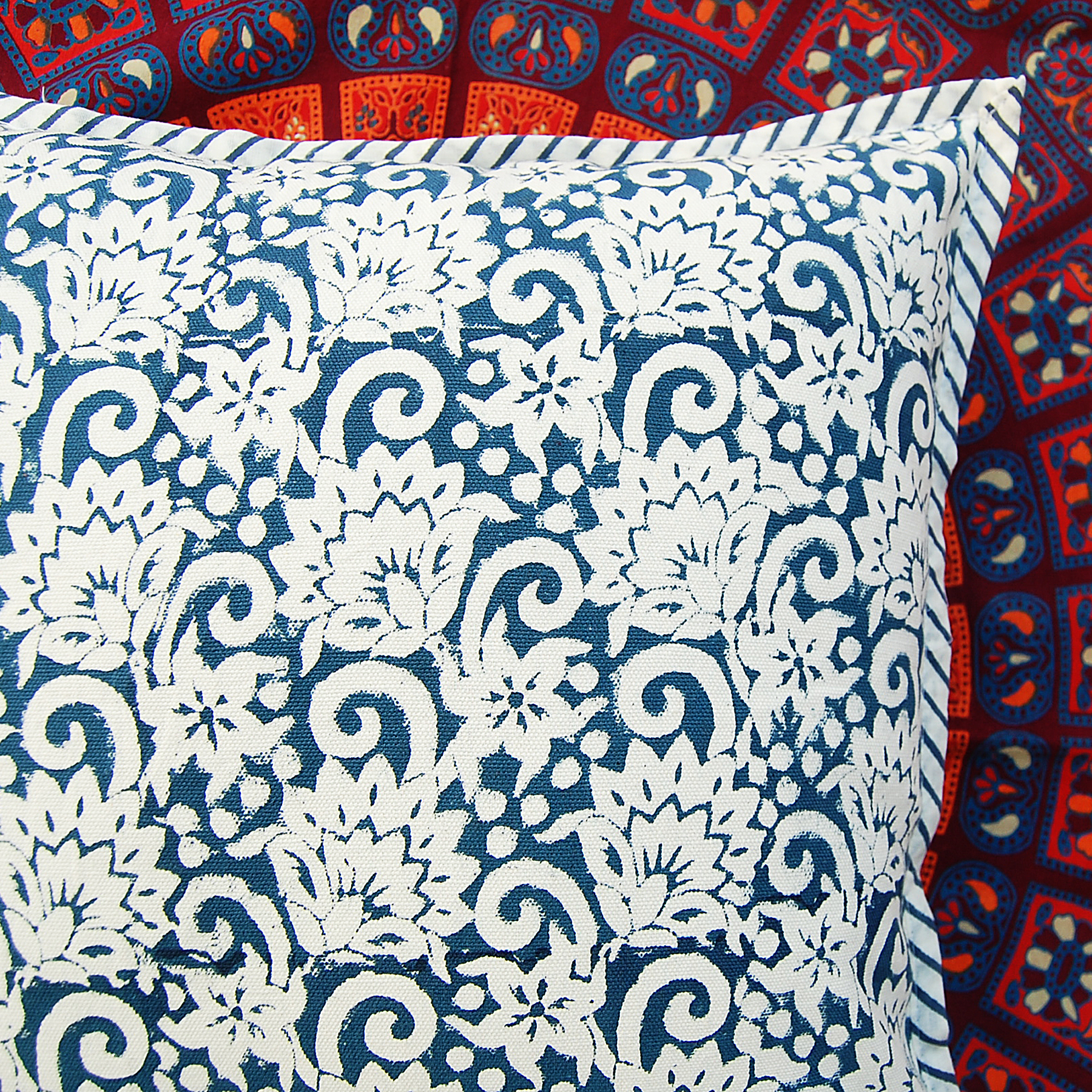 Hand Block Cushion Cover