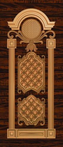 pvc solid door