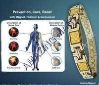 bio magnetic titanium bracelet