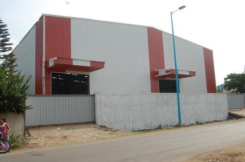 Pre Engineered Steel Structure Building