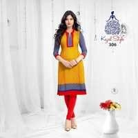 Latest Cotton Kurits Catalog Jetpur