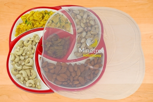 Customized Dry Fruit Serving Tray