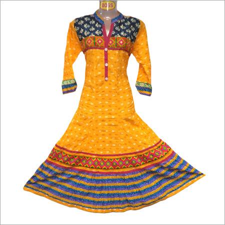 Designer Traditional Cotton Kurti