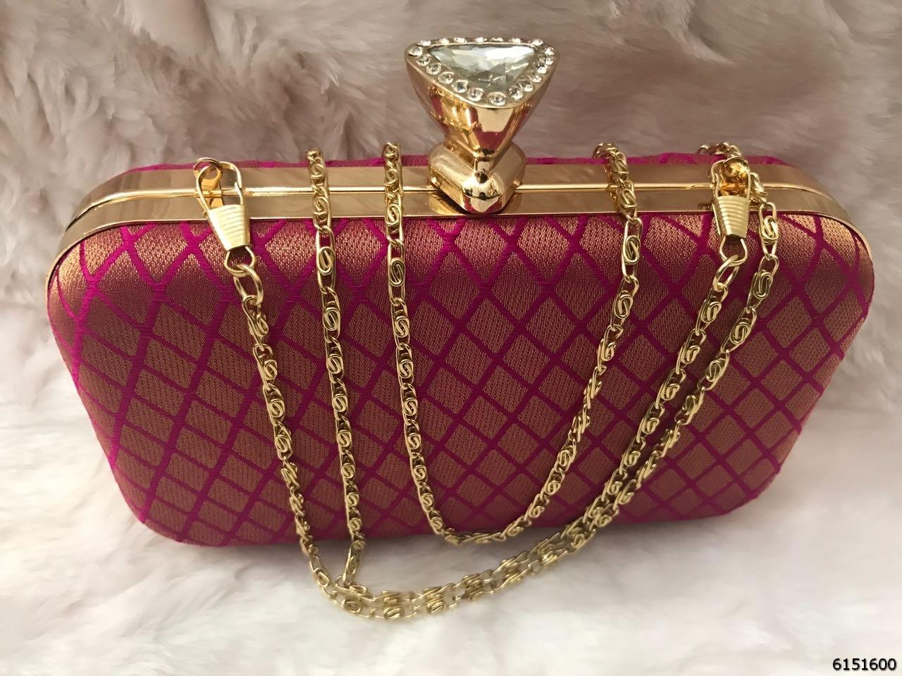 Stylish Ladies Box Clutch