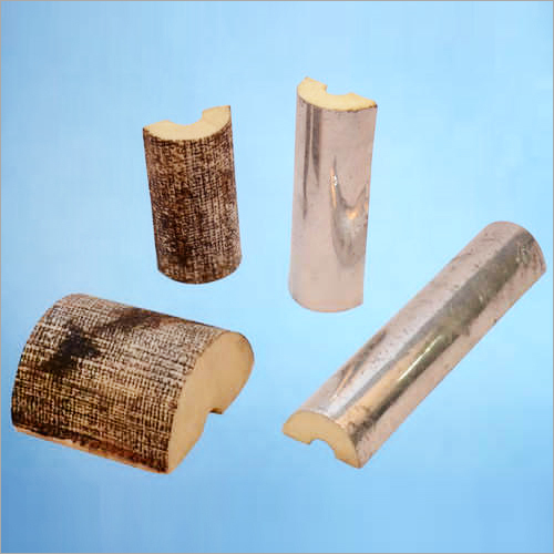 Laminated PU Foam Pipe Sections