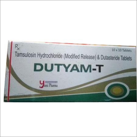 Tamsulosin 0.4 + Dutastride 0.5 Mg