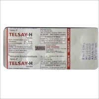 Telmisartan and Hydrochlorothiazide Tablets IP