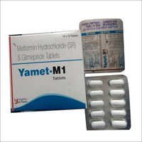 Metformin Hydrochloride and Glimepride Tablets