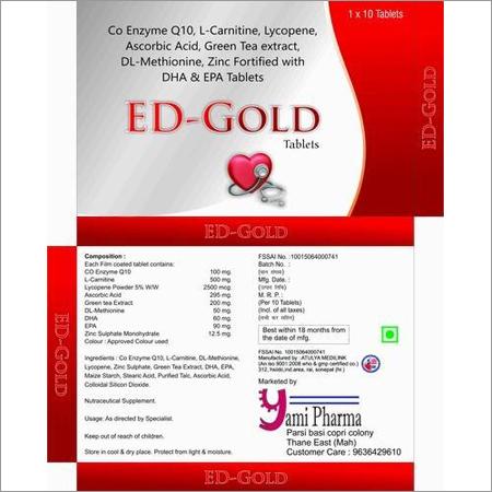Co Enz Q10 l- Carn Lycop EPA DHA Dl Medicine
