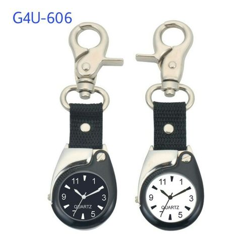 Key Chain Watch with Magnifier