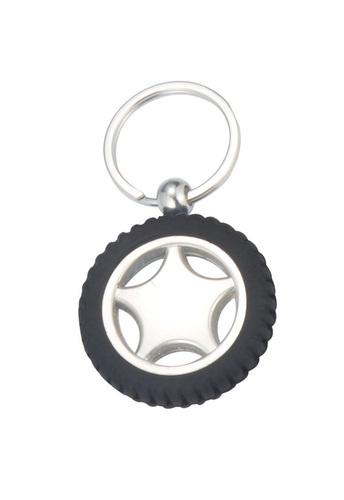 Key Ring in Tyre Shape