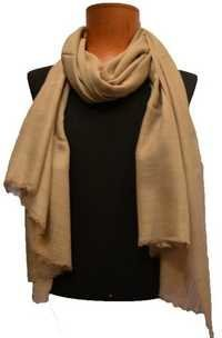 Fine Wool Plain Scarf