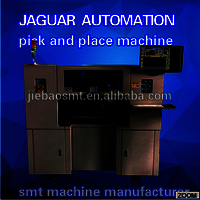 Automatic visual system realized robot pick and place machine