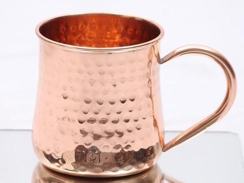 Copper Beer Hammered Cup
