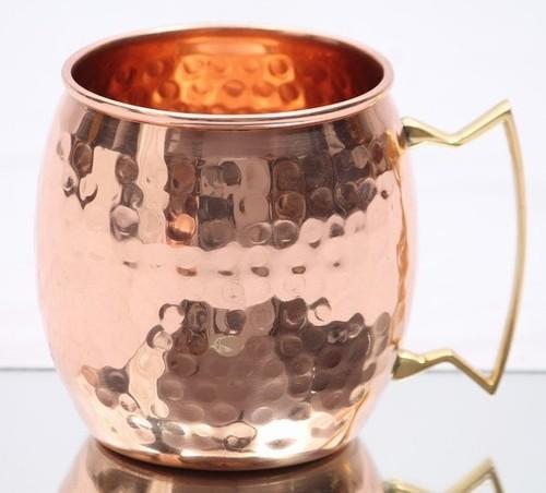 Beer Copper Hammered Mug