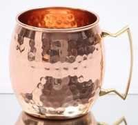 Beer Copper Hammered Mug