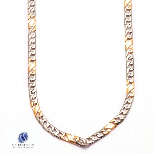 Gold Plated Platinum Chains