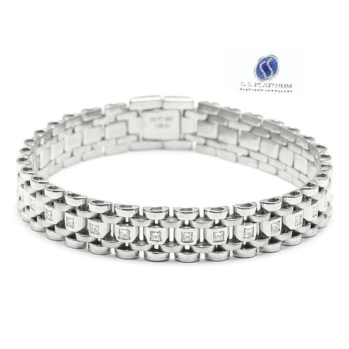Platinum Braceles
