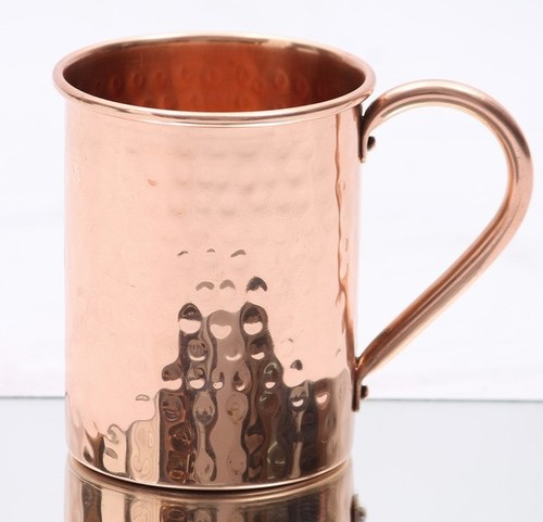 Straight Copper Beer Mug