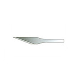 Flat Lance Tip Blades For Initial Incision