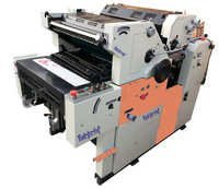 2 Color Non Woven Satellite Offset Printing Machin