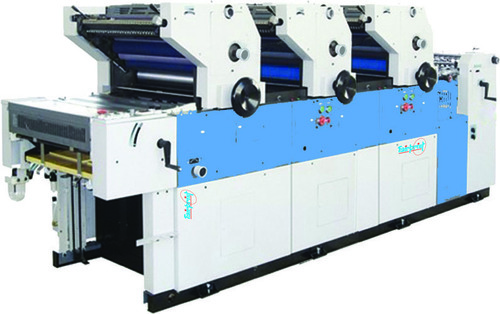 3 Color Carry Bag Printing Machine
