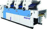 3 Color Non Woven Offset Printing Machine