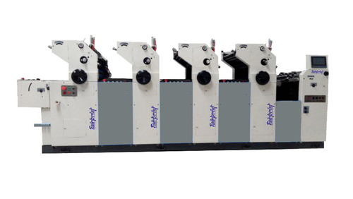 4 Color Non Woven Bag Printing Machine