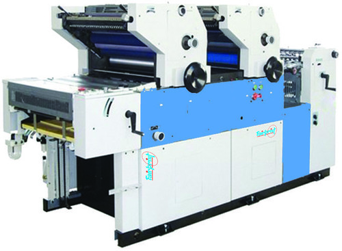 Double Color Non Woven Offset Printing Machine